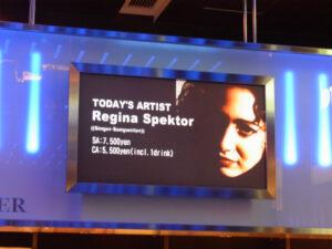 Regina Spektor Live