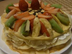 手作り誕生日ケーキ